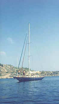 Classic 1937 40sq.m Knud Reimers 45' Cutter Headed Sloop