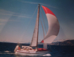 Steel Ewbank 40 sailing yacht for sale
