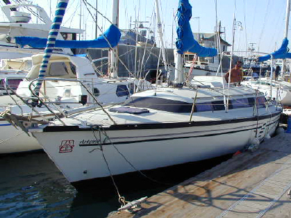 Dufour 3800 for sale in Cyprus