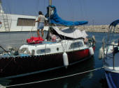 Bigoin & Duvergie designed cruiser cutter for sale in Cyprus