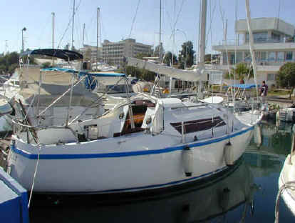 Atlanta sailing boat for sale in Cyprus