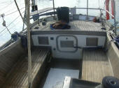 H28 Hereschoff designed boat for sale - cockpit
