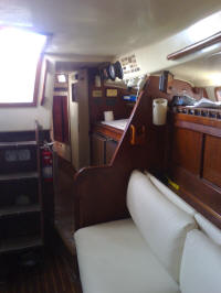 Morgan out Islander for sale, interior picture
