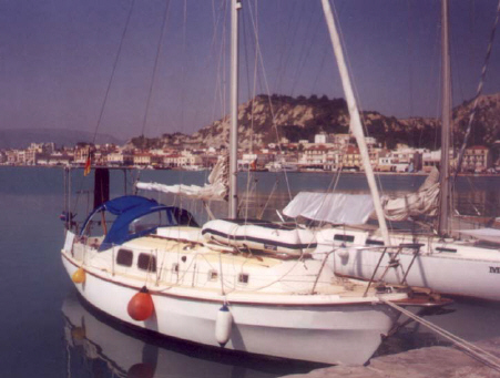 Westerly 31 sailing yacht for sale